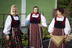 A pancsovai asszonyok készülődnek a fellépésre