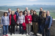 Kirándulás Dévára a pancsovai egyesület tagjaival