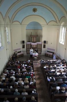 Ökumenikus istentisztelet a hertelendyfalvi református templomban