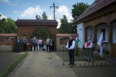 Bukovinai székely tájház nyílt a dél-bánáti Hertelendyfalván