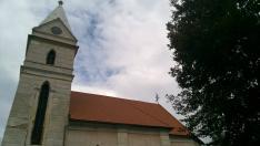 A várhosszúréti templom részlete
