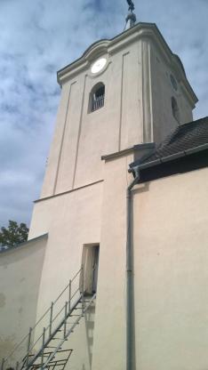 Szilice, a Szent László Legenda nyomában a református templom kívülről