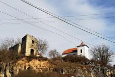 A Templomhegy a két templommal