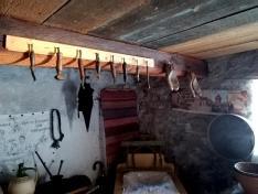 A néprajzi szoba részlete