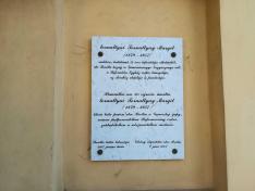 Tornallyay Margit emléktáblája a kúria falán