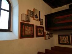 A Templomban elhelyezett állandó kiállítás részlete