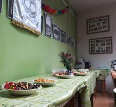 Sok finomság várta a cserkészeket az otthonban