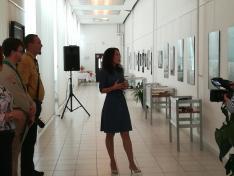 Kerényi Éva a kiállítás kurátora