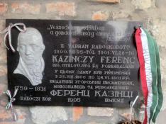 A  munkácsi várban raboskodott egy ideig Kazinczy Ferenc