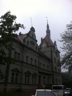 A beregvári Schönborn kastély
