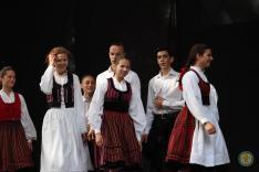 A Borostyán táncegyüttes (Munkács)