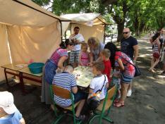 Bangó Aliz Petőfi ösztöndíjas standja
