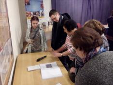 Az előadást követően Radnóti Libereci tanulmányairól szóló kiállítást tekinthettük meg