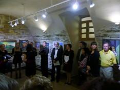 A megnyitón közreműködött a Mille Domi kórus