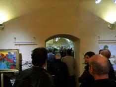 A kiállítás helyszíne a Balassi Intézet Pincegalériája
