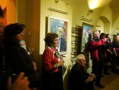 Tiszteletüket tették a budapesti Bohémia Kör tagjai is