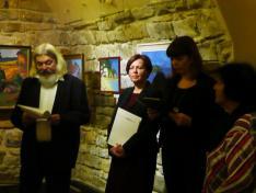Tiszai Nagy Menyhért életművét a kiállítás kurátora, Hadik András méltatta