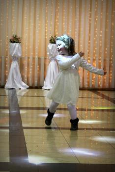 A legkisebbek is táncra perdültek
