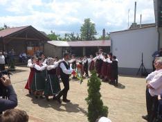 Avató ünnepségen Hertelendyfalván