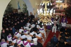 résztvevő papok és egyháztanácsosok