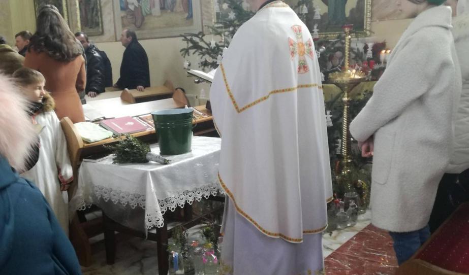 Vízkereszt a csepei görögkatolikus egyházban