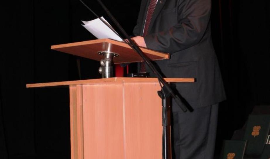 Dudás Károly, a Vajdasági Magyar Szövetség (VMSZ) elnökének nyitóbeszéde