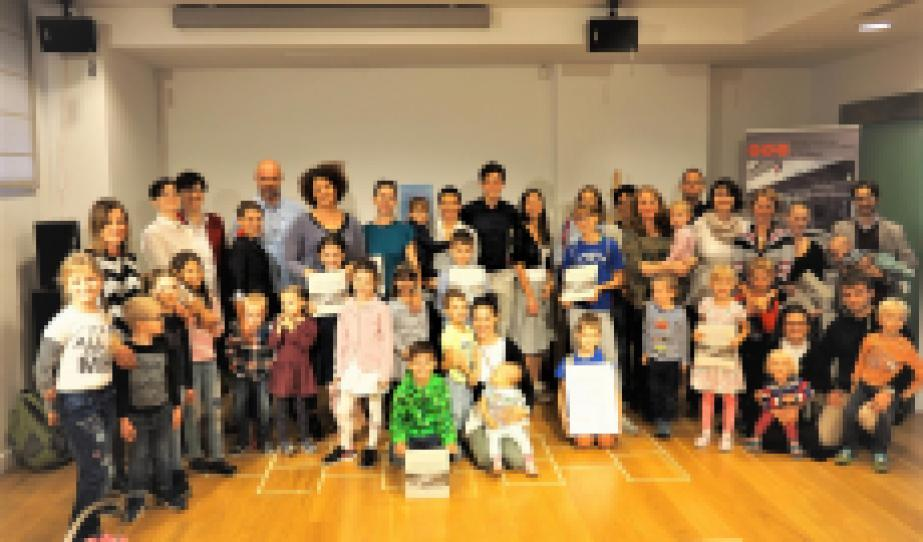 Divéky Adorján Hétvégi Iskola csoportképe