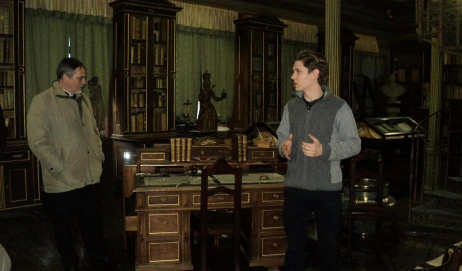 Az ausztriai magyar lelkészek Szombathelyen az Egyházmegyei Könyvtárban