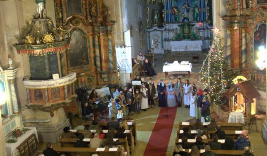 Római Katolikus Plébániatemplom, Medgyes