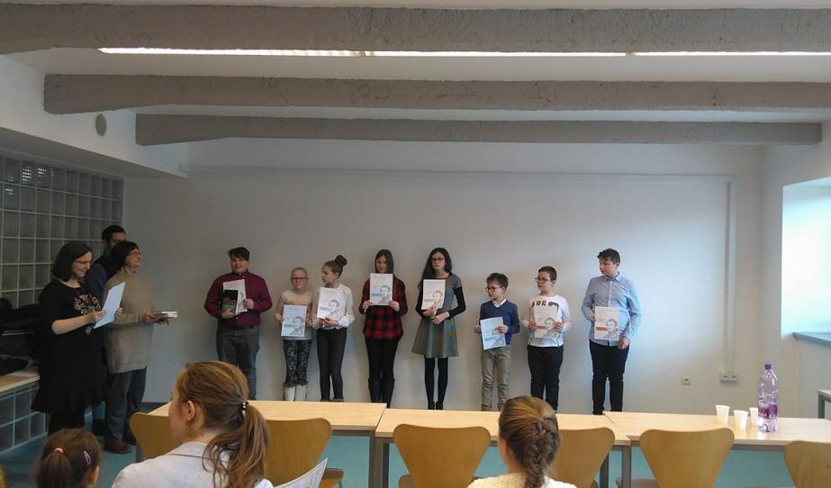 A második kategória versenyzői