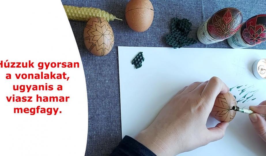 Népi kézművesség – tojásírás