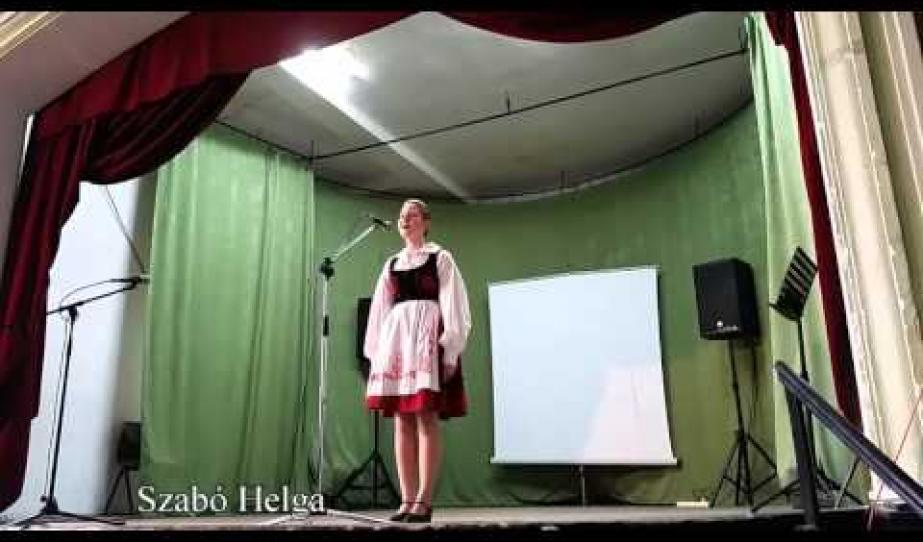Ferencz Orsolya - Szóljon hangosan az ének Segesvárról