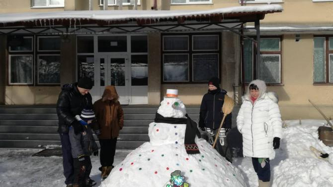 Csepei hóember