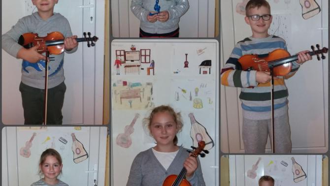 Néhány tanítványom, akik a Petőfi Program jóvoltából tanulhatnak ingyenesen zenét