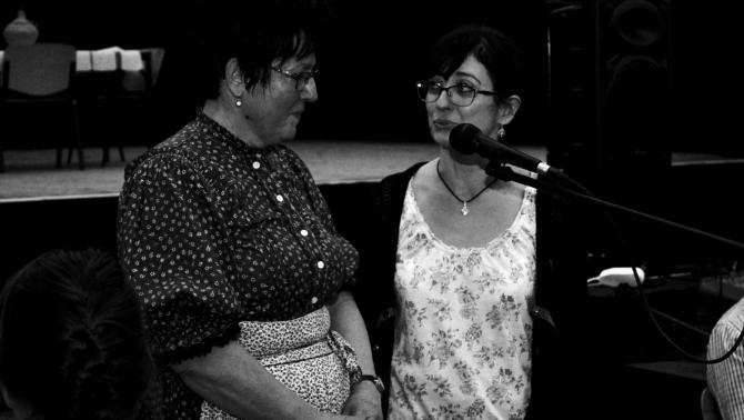 Lelik Berta a 2019-es krasznai farsangi táncházon