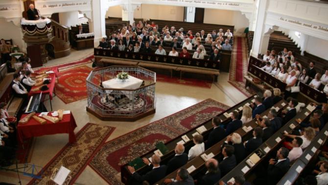 Országos tanévnyitó ünnepség Zilahon a Belvárosi Református Egyházközség templomában