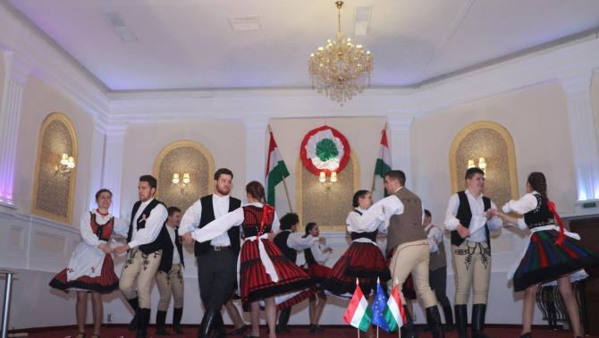 A Bukaresti Magyar Diákszövetség előadása