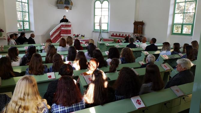 Ökumenikus istentisztelet a városi unitárius templomban
