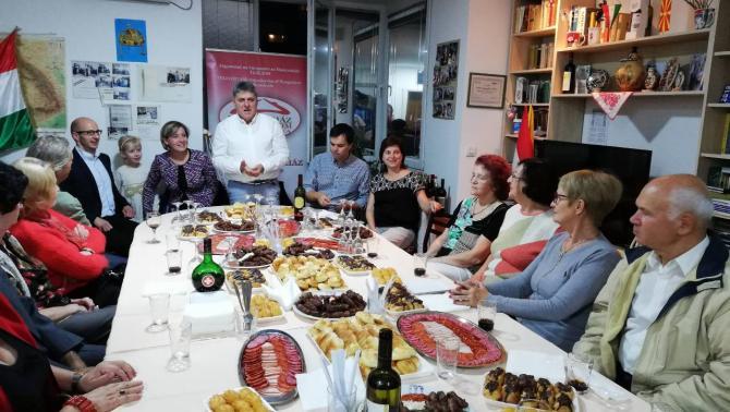 Nagyköveti látogató a Macedóniai Magyarok Teleház Szervezeténél 2018