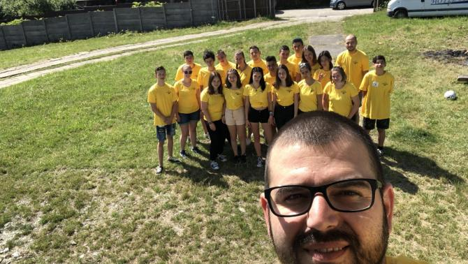 SummerVibes tábor selfie