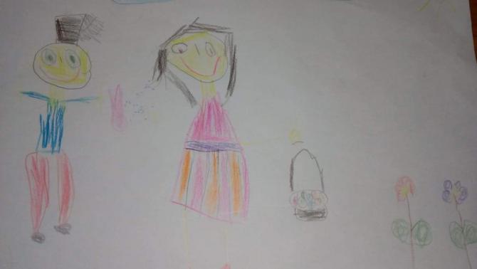Tóth Lilla 5,5 éves, Csóka