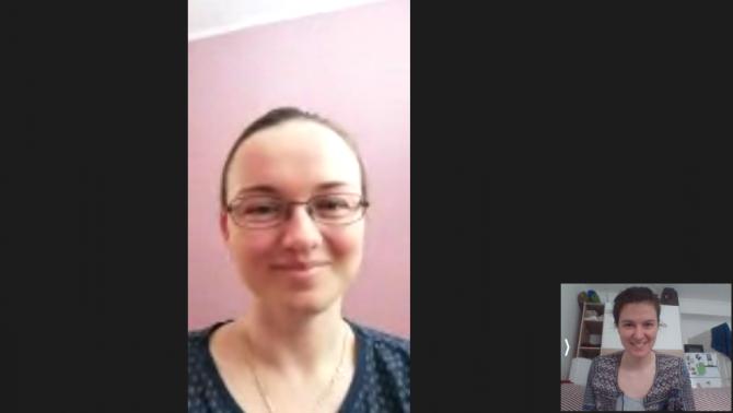 Videó-beszélgetés Gálik Mariettával