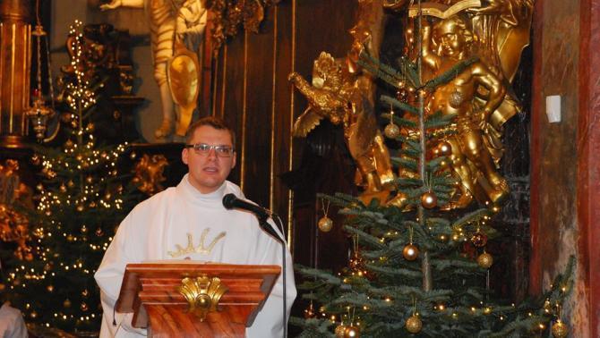 Balga Zoltán atya, prágai katolikus lelkész