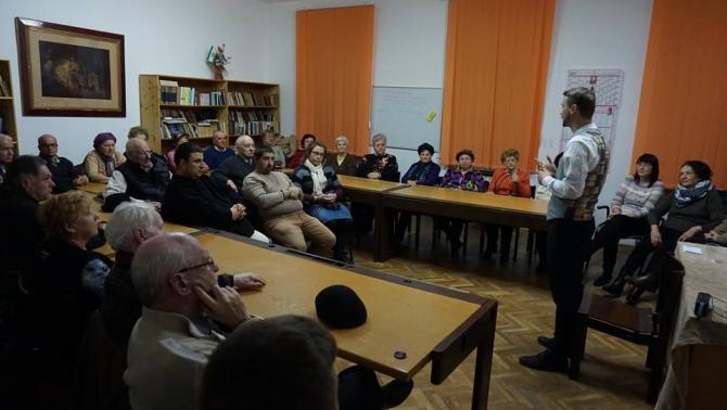 Csadi Zoltán színművész előadása