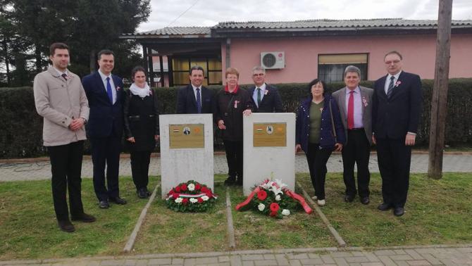 Március 15-e Macedóniában