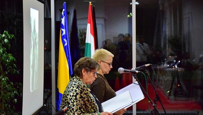 54038827c5 November 10-én, komoly érdeklődés mellett tartotta huszonötödik  születésnapi rendezvényét a szarajevói HUM Magyar Polgárok Egyesülete.