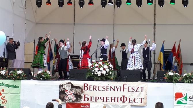 Az ungvári Csüllő néptáncegyüttes