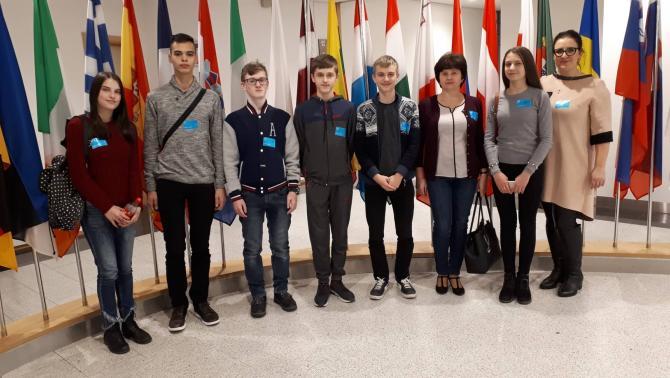 Látogatás az Európai Parlamentben