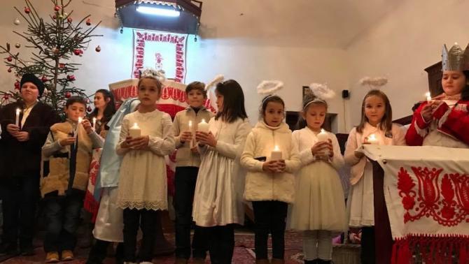 Karácsony szombatja Lupény