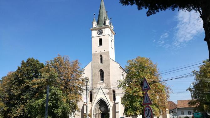A szász templom